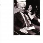 S.P. con Giulio Einaudi negli anni '80