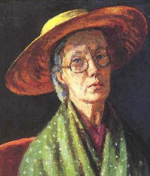 Vanessa Bell in un autoritratto