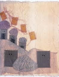 Un quadro di Maria Lai