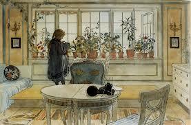 Acquerello di Carl Larsson