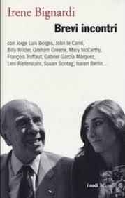 Bignardi con Borges sulla copertina del libro