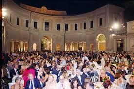 Il Ninfeo di Villa Giulia dove si svolge il premio Strega