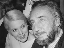 Gary con Jean Seberg, sua seconda moglie