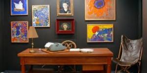 Lo studio di Elsa Morante