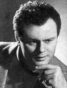 Mario Petri nel 1957