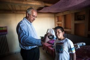13/09/2014 Roma, set del film Bambini in Italia regia di Walter Veltroni