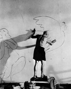 L'artista e le sue colombe