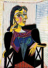 Ritratto di Dora Maar, di Picasso